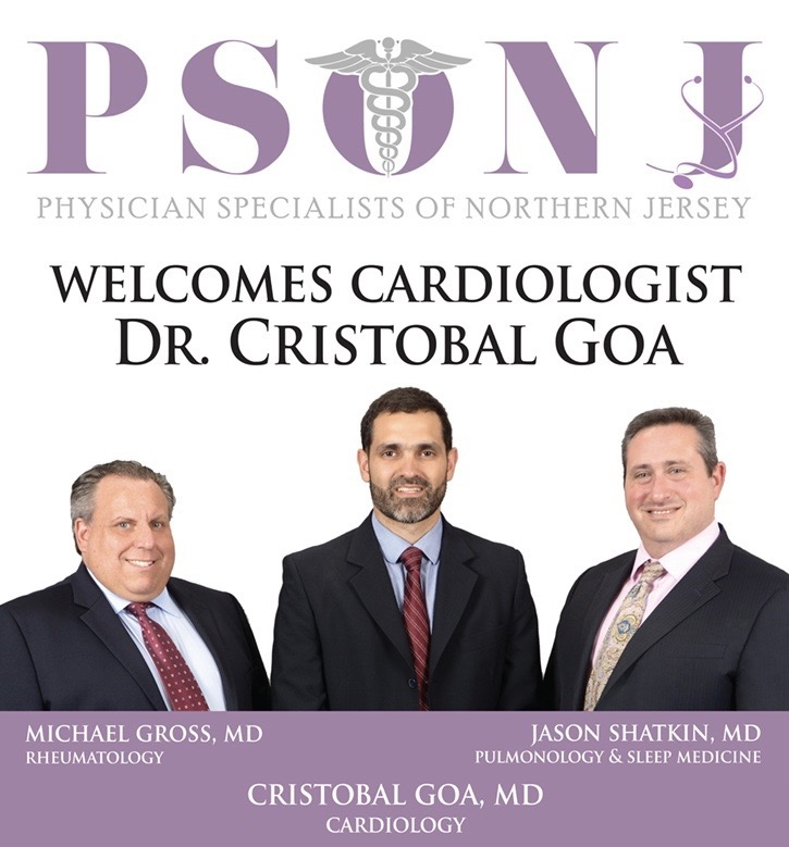 PSONJ Welcomes Cardiologist Dr. Cristobal Goa